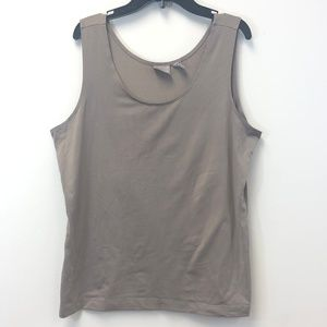 Chico's Tan Tank Top Size 2